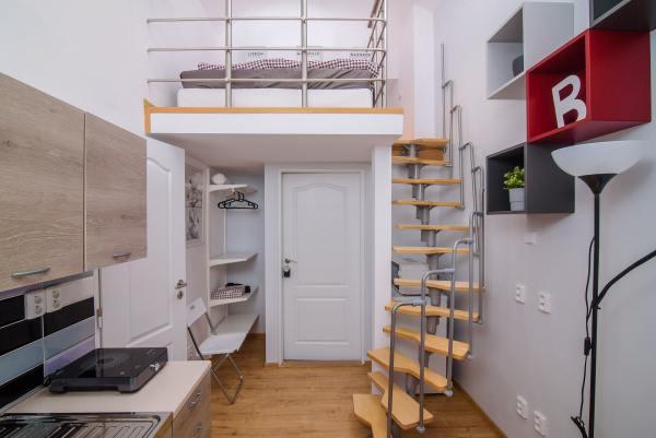 Loft studio apartment (EULIVIA Apartments)