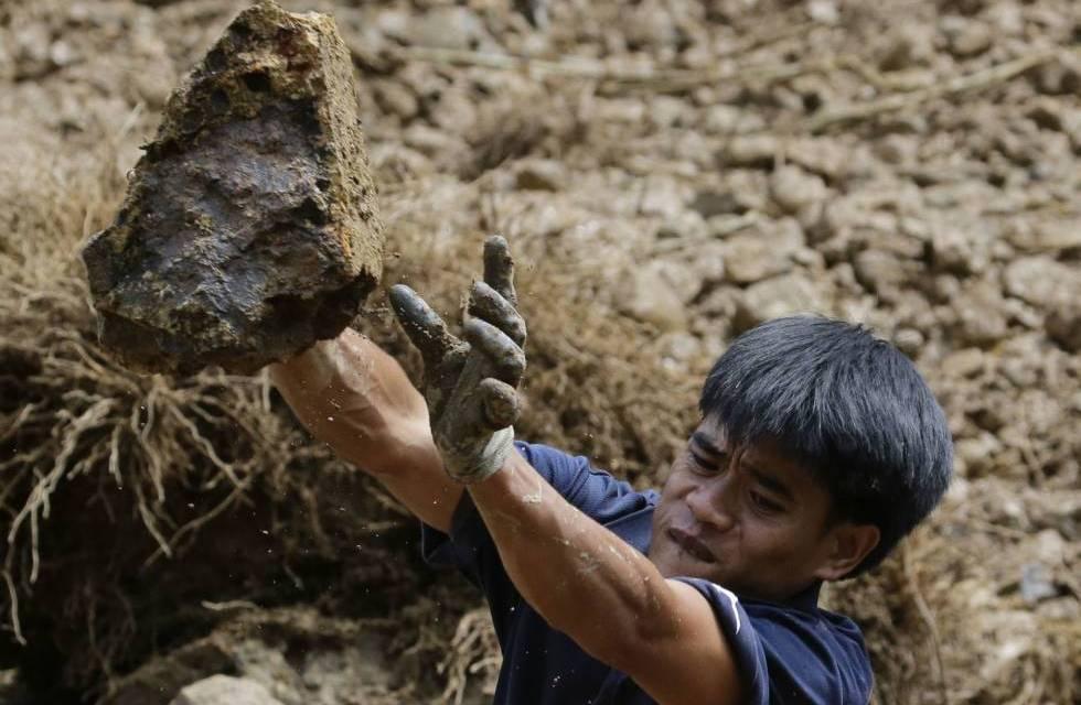 Los efectos del tifón Mangkhut, en imágenes