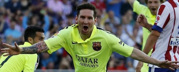 Séptima Liga para Leo Messi que además anotó el gol definitivo contra el Atlético en el Vicente Calderón.