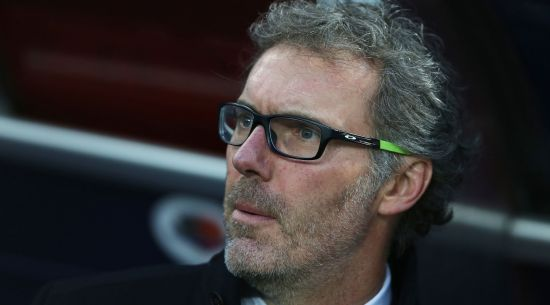 Paris Saint-Germain's French head coach Laurent Blanc is pictured before the French L1 football match between Caen (SM Caen) and Paris Saint-Germain (PSG), on December 19, 2015 at the Michel d'Ornano stadium, in Caen, northwestern France. Paris Saint-Germain won the match 0-3. / AFP / CHARLY TRIBALLEAU (Photo credit should read CHARLY TRIBALLEAU/AFP/Getty Images)