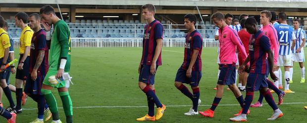 Tras perder ante el Leganés el Barça B certificó matemáticamente su descenso a Segunda B.