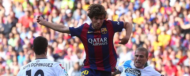 Futbol. FC Barcelona Deportivo de La Corunya Foto : PEP MORATA