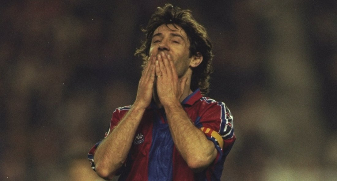 Jose Maria Bakero of Barcelona (1)