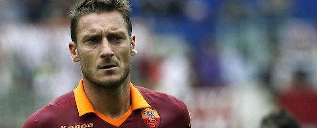 Francesco Totti, leyenda de la Roma.