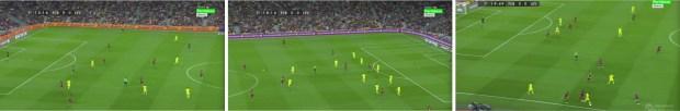 Busquets y Rakitic formaron por delante de la defensa en un 4-2-3-1 aunque ninguno de los dos ejerció de mediocentro.