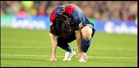 Messi abatut