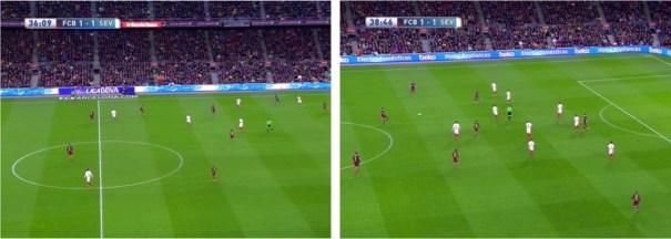 En la mejoría del Barça, resultó clave que Jordi Alba pasara a sujetarse atrás siendo Arda quien más veces abriera la banda.