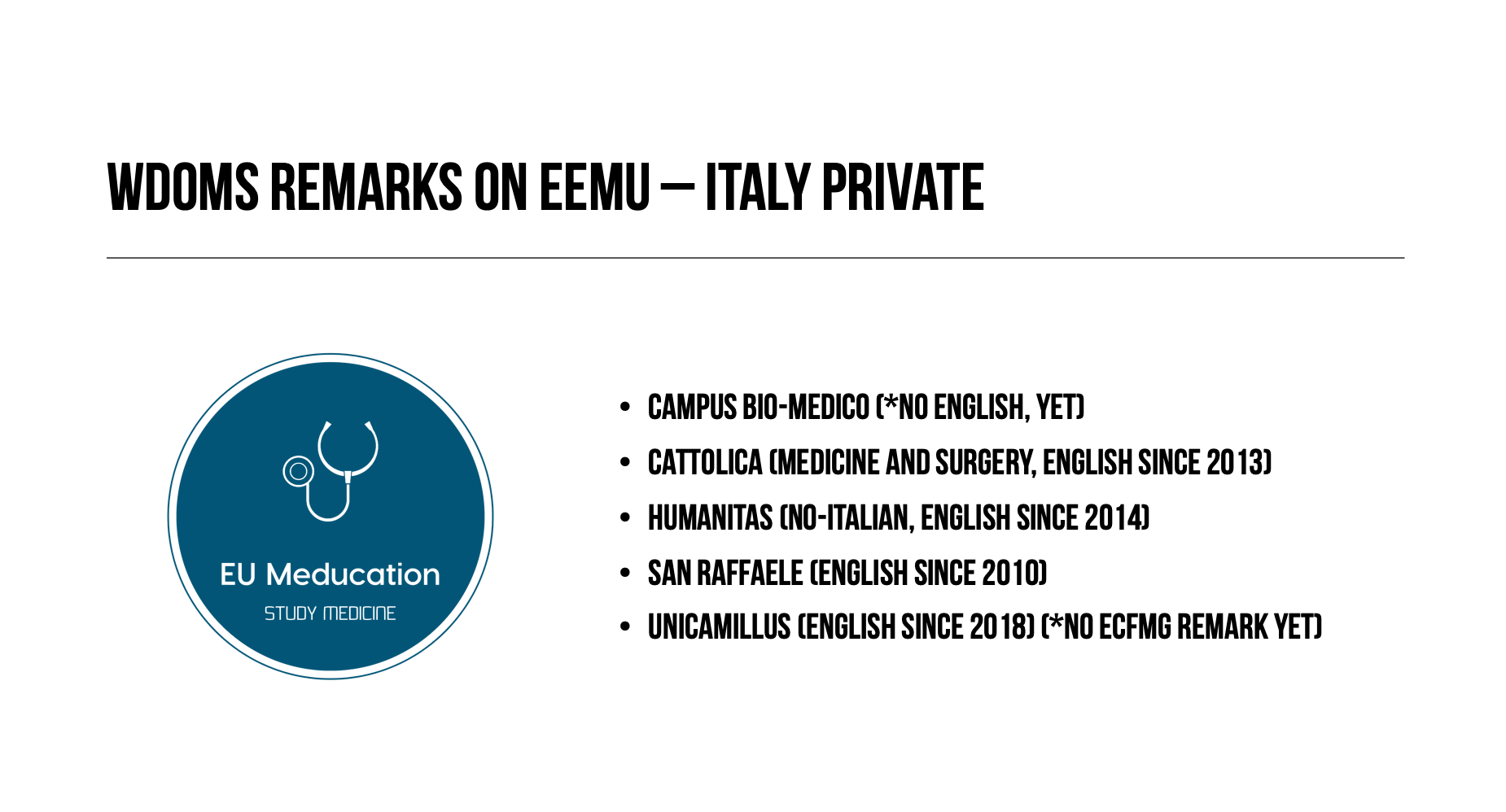 WDOMS-Italy-Private