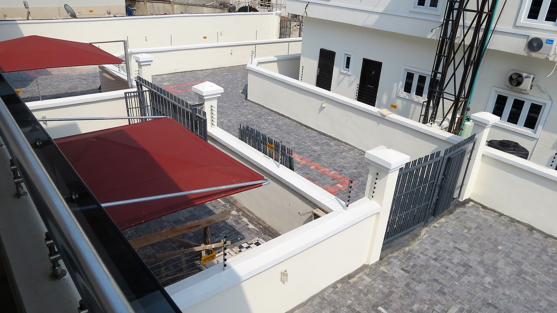 Neatly Finished 4 Bedroom Semi Detached House with a Very Large Compound in a Gated Estate in Lekki