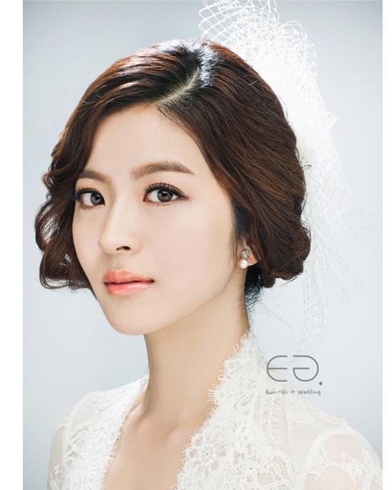 Korean Bridal Make Up Amp Hairstyle No3 Korea Prewedding