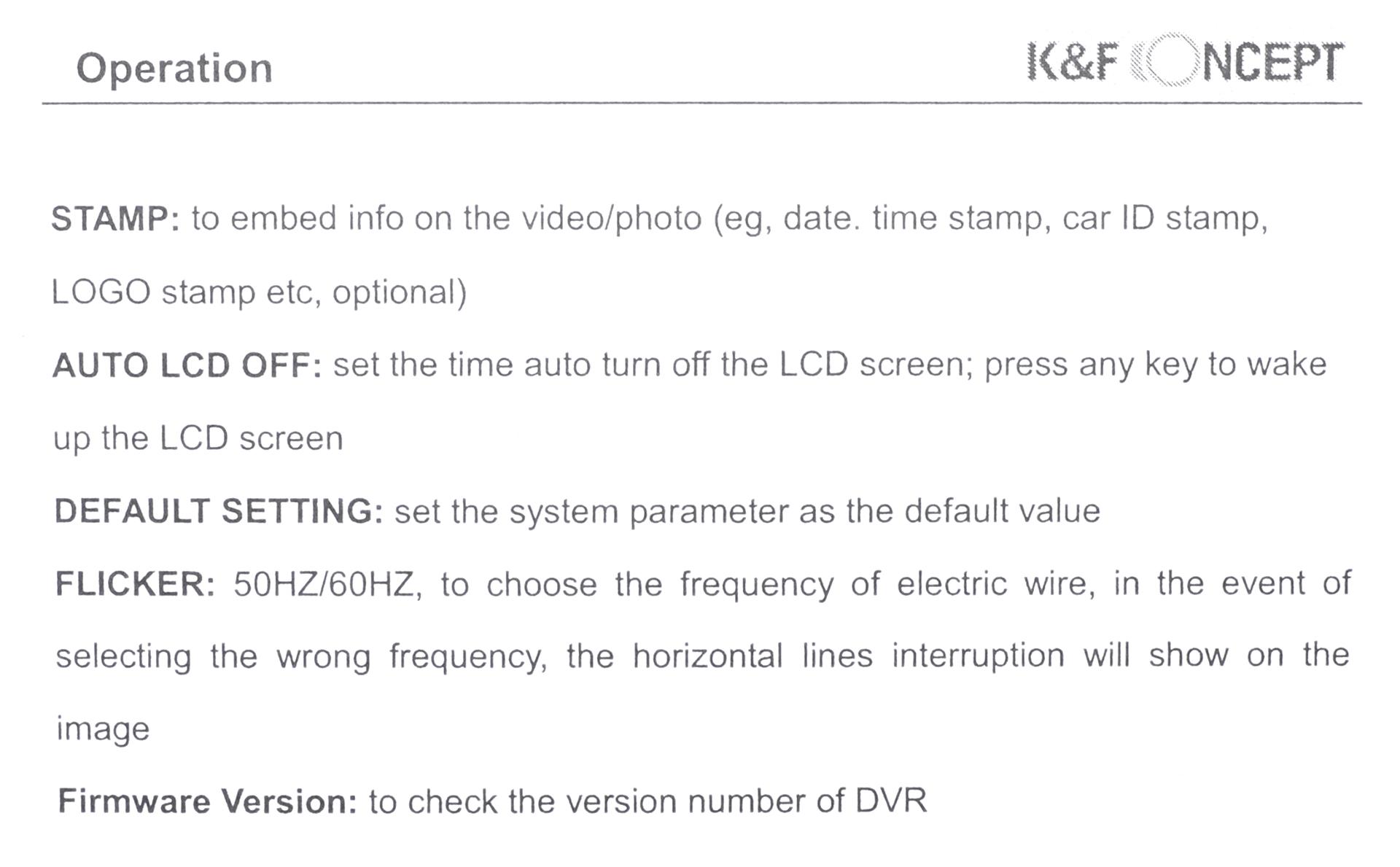 K Amp F Concept Novatek Nt Car Dash Cam 32gb Microsd Card Review