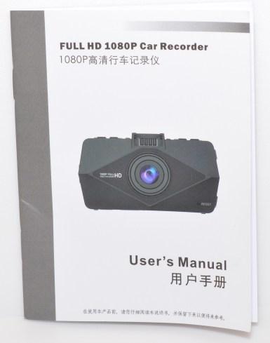 PowerLead Acoo Par002 New FULL HD 1080P Car Camera - Manual.