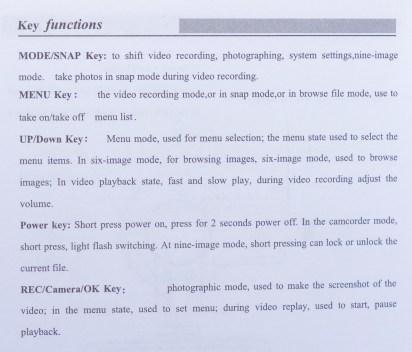 PowerLead Acoo Par002 New FULL HD 1080P Car Camera - Manual page 5.
