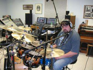 Mike Upah in Euphonic Studio