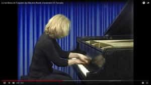 Cathy Risse playing Le tombeau de Couperin by Maurice Ravel on our Mason and Hamlin grand