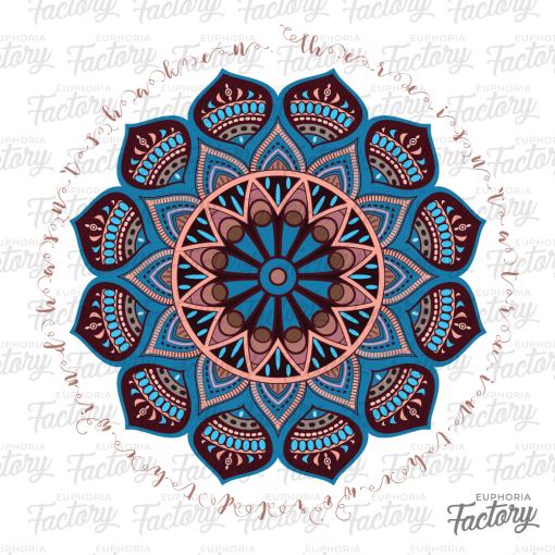 Hindu Flower Design