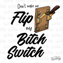 Don't make me flip my bitch switch digital design