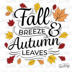 Fall Breeze & Autumn Leaves