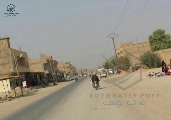 جولة لمراسل فرات بوست في قرى الشعيطات صباح اليوم