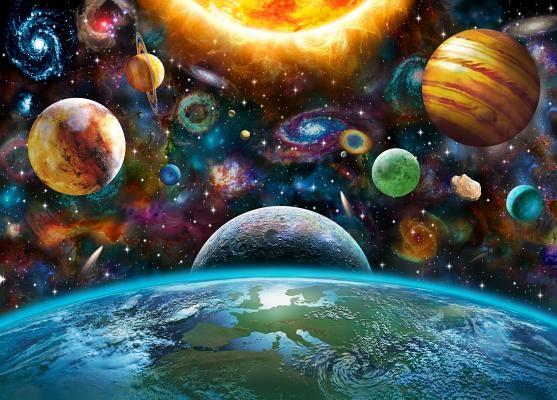 Puzzle the Universe