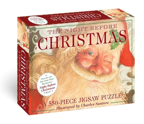 The Night Before Christmas: 550-Piece Jigsaw Puzzle & Book: A 550-Piece Family Jigsaw Puzzle Featuring the Night Before Christmas!