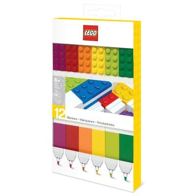 Lego 12 Pack Markers