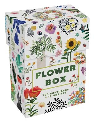 Flower Box: 100 Postcards by 10 Artists (100 Botanical Artworks by 10 Artists in a Keepsake Box)