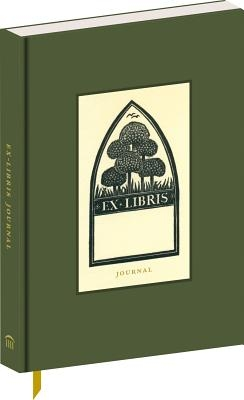 Ex Libris: A Journal (Ruled Notebook with Cloth Cover, 6-1/2 X 4-1/4, Includes Sixty Historic Bookplates, Perfect Gift for Reader