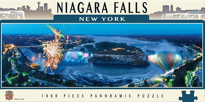 Niagara Falls 1000pc Panoramic