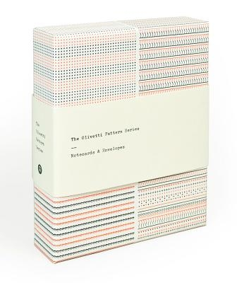 The Olivetti Pattern Series: Notecards & Envelopes (Stationery Set Features Vintage Patterns from Olivetti Typewriters, 12 Notecards,3 Designs)