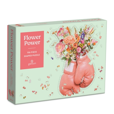 Flower Power 750 Piece Shaped Puzzle