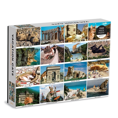 Vacation Cats 1500 Piece Puzzle