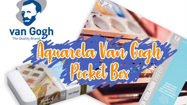 Aquarela Van Gogh Pocket Box - Review