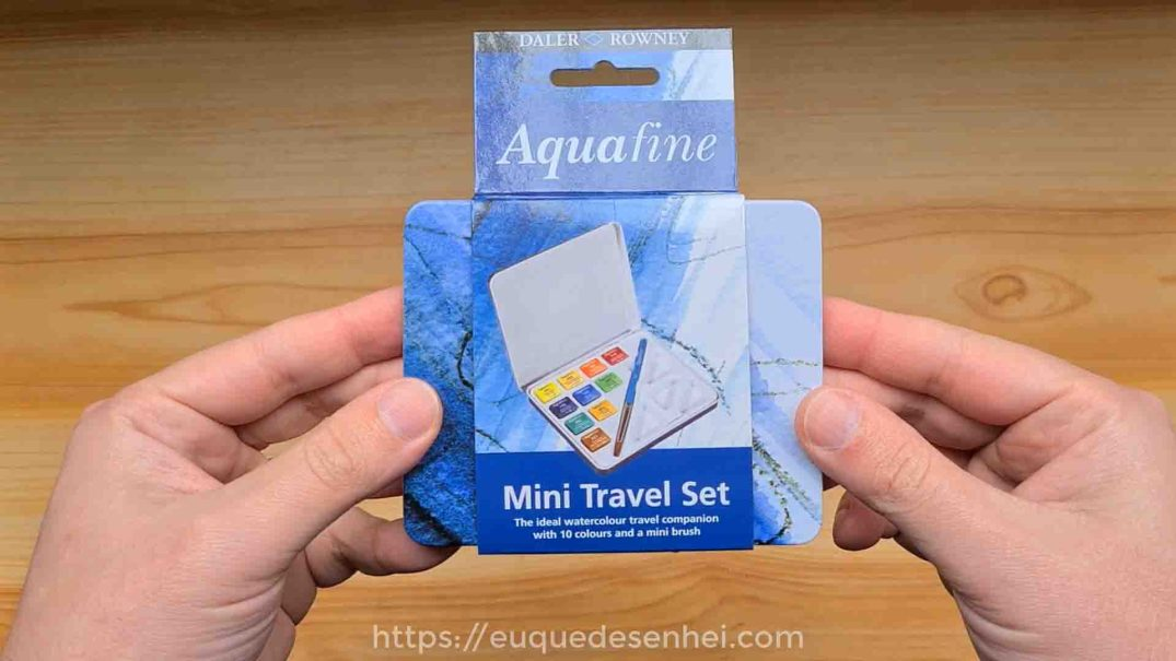 Aquarela Aquafine Mini Travel Set