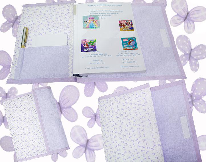 capa agenda lilás