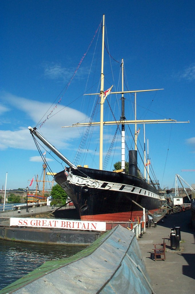 Ss Great Britain Restoring Brunel S Ship Back To Her