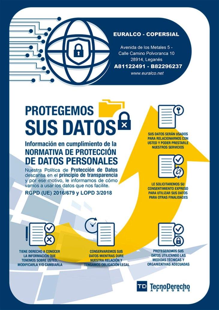 Euralco. Protegemos sus datos.