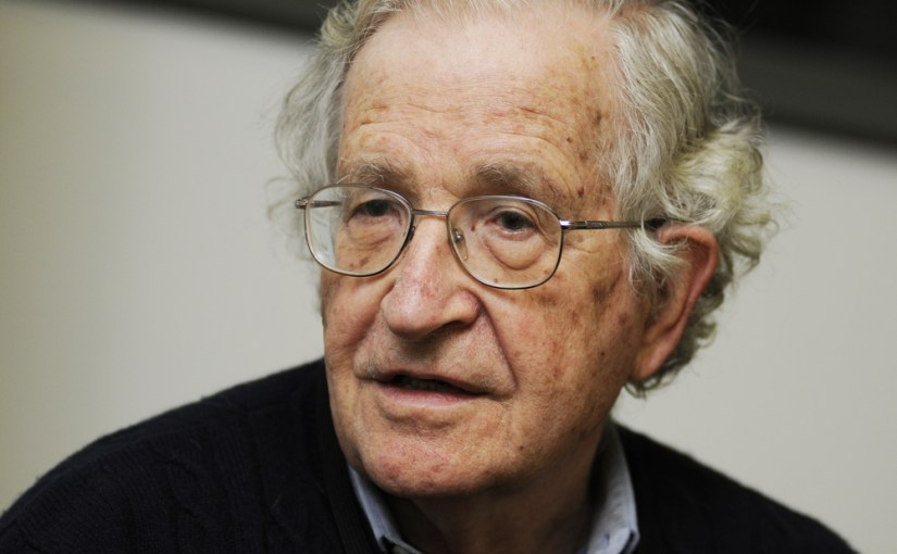 'Never Seen Anything Like This' – Chomsky