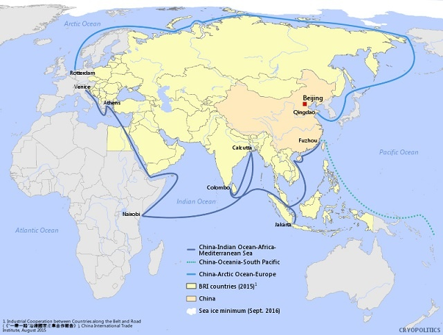 Polar Silk Road: Why Russia's Northern Sea Route is the Best Option for China