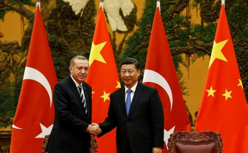 Erdogan sees China as a partner for the future