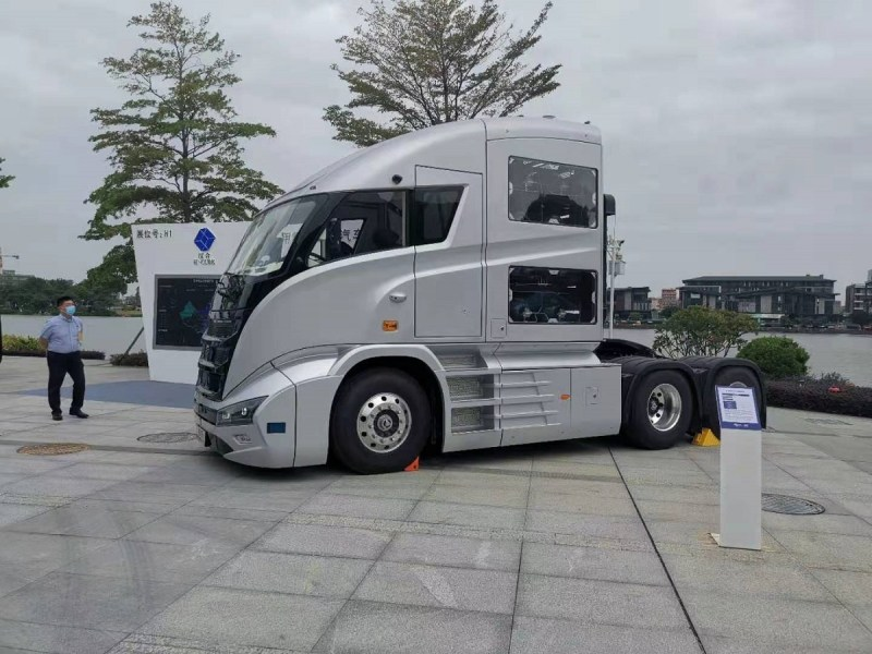 Hydrogen fuels a revolution in Chinese trucks