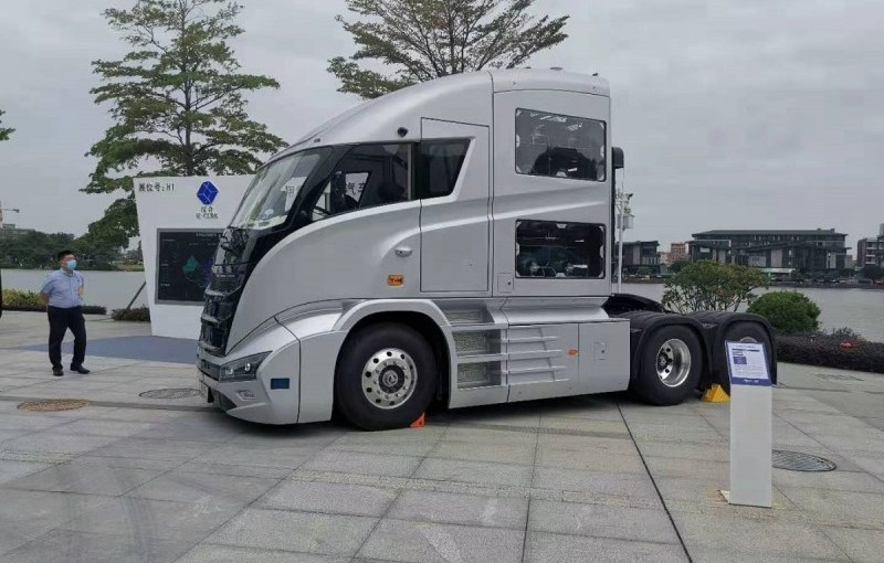 Hydrogen fuels a revolution in Chinese trucks