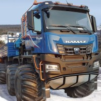 """""""KamAZ of Doomsday, the conqueror of the poles..."""