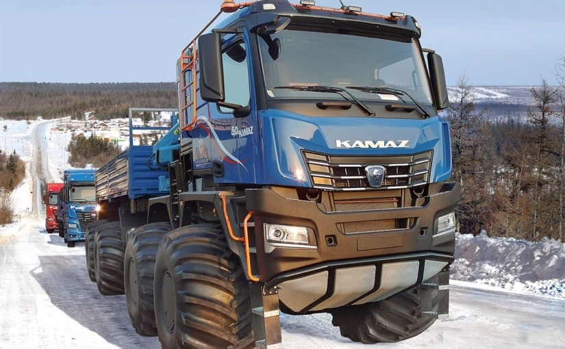 """""""KamAZ of Doomsday, the conqueror of the poles…"""