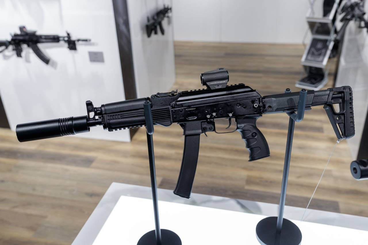 Arms Expo – New submachine gun PPK-20 from Russia