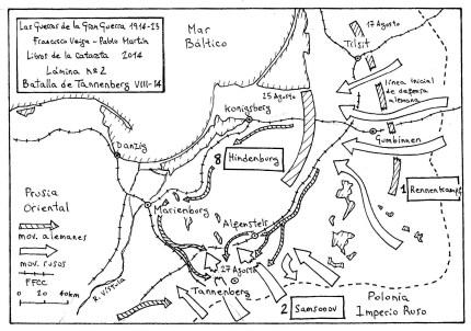 Batalla de Tannenberg VIII-14