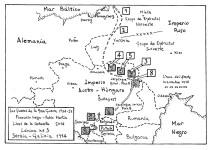Serbia - Galicia 1914