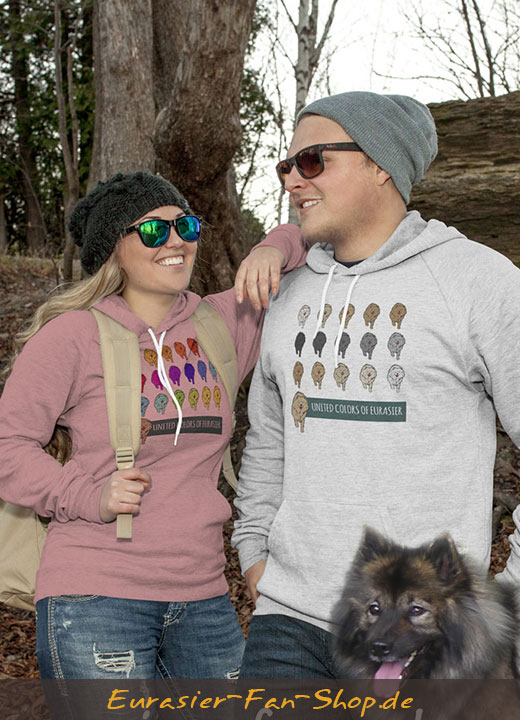 Eurasier Hoodie-Pulli - Many Colors