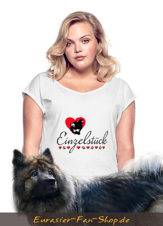 Eurasier-T-Shirt-Frauen