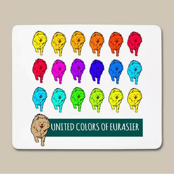 Eurasier Geschenk Idee Mousepad